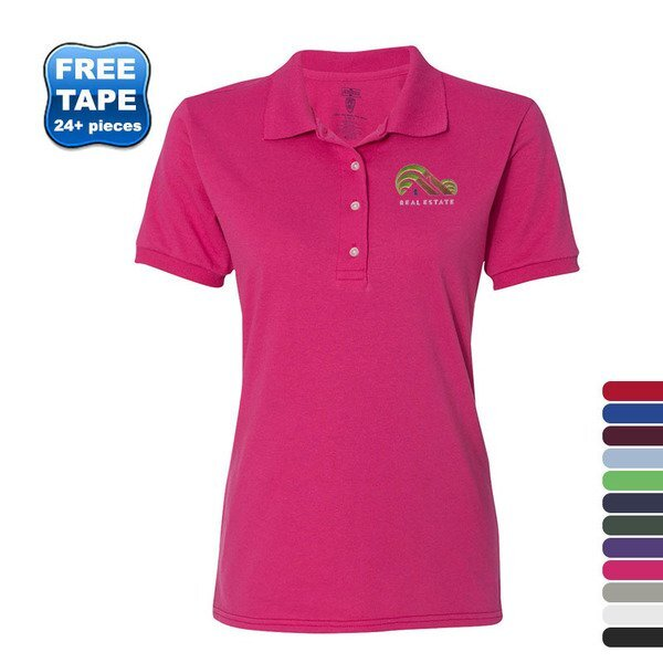JERZEES® SpotShield™ 50/50 Ladies' Sport Shirt
