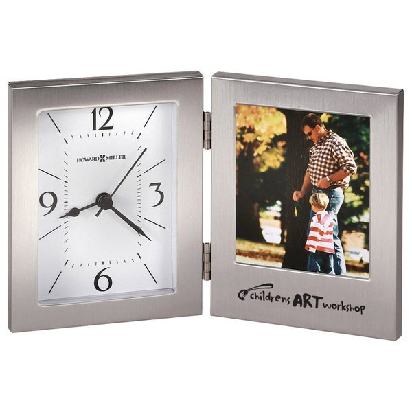 Howard Miller® Envision Aluminum Frame Clock Combination