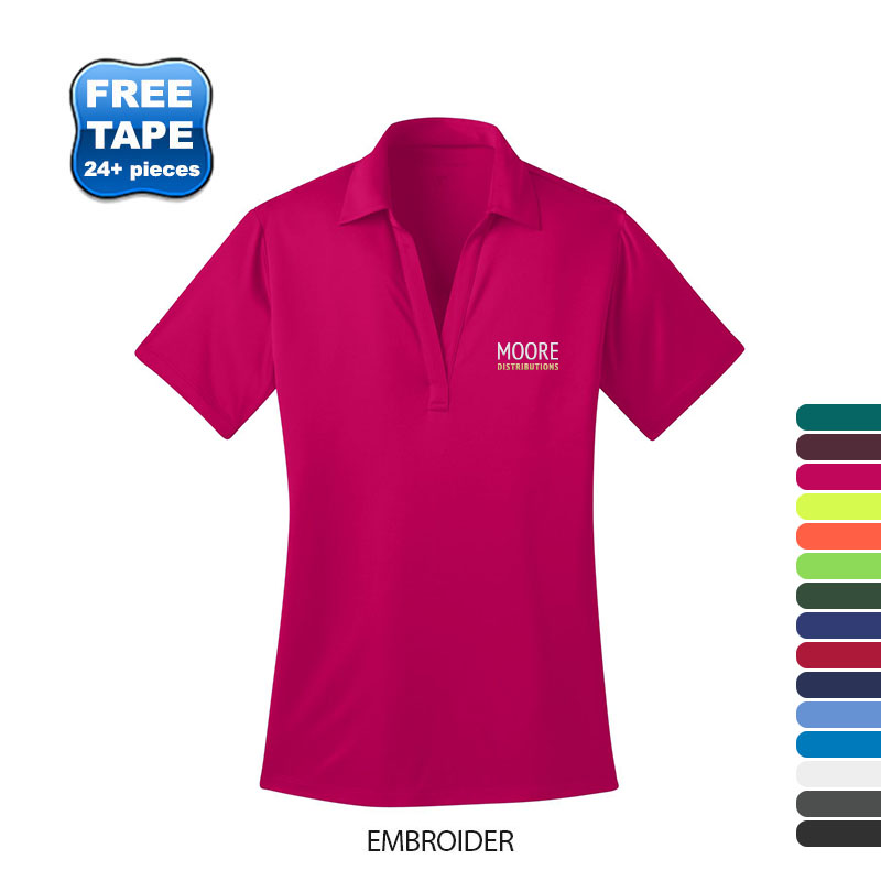 Port Authority® Silk Touch™ Performance Ladies' Polo