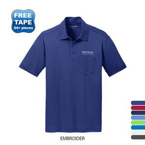 Port Authority® Silk Touch™ Performance Men's Polo with Pocket