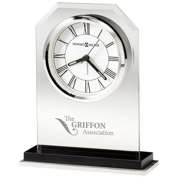 Howard Miller® Emerson Beveled Glass Clock