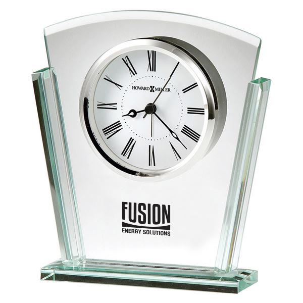 Howard Miller® Granby Jade Glass Tabletop Clock