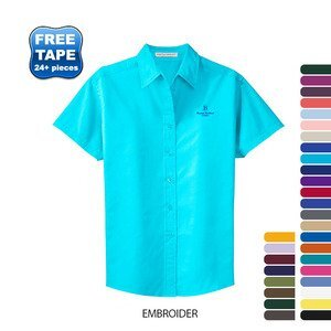 Port Authority® Easy Care Ladies' Short Sleeve Shirt