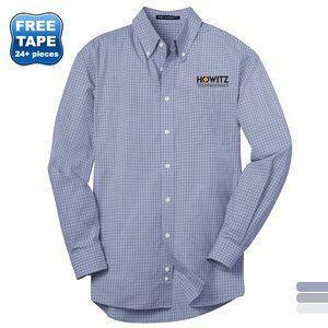 Port Authority® Plaid Pattern Easy Care Men's Shirt