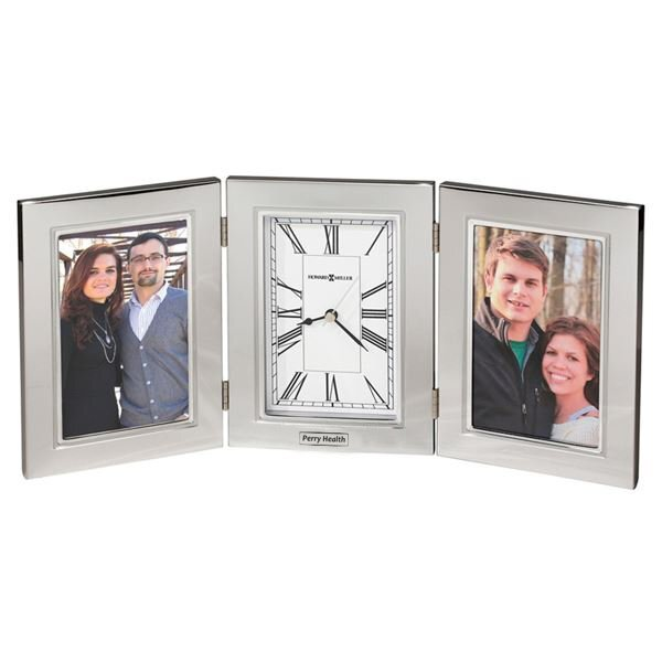 Howard Miller® Trio Aluminum Frame Clock Combination