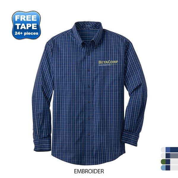Port Authority® Tattersall Easy Care Men's Shirt