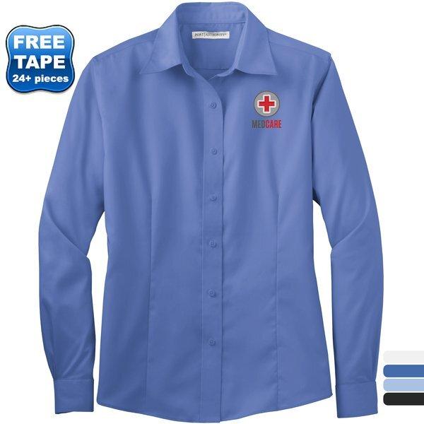 Port Authority® Cotton Twill Non-Iron Ladies' Shirt