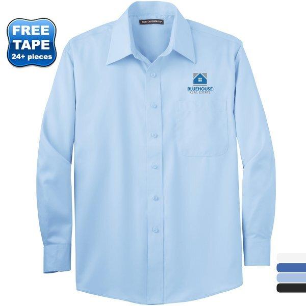 Port Authority® Cotton Twill Non-Iron Men's Shirt