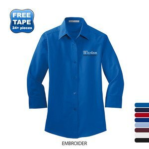 Port Authority® Easy Care Ladies' 3/4 Sleeve Shirt
