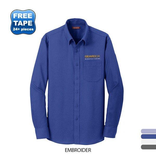 Red House® Diamond Dobby Non-Iron Cotton Men's Shirt
