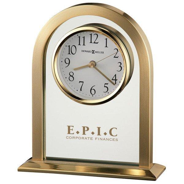 Howard Miller® Imperial Brass Finished Clock