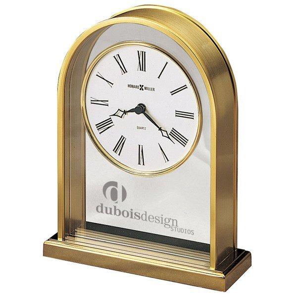 Howard Miller® Reminisce Brass Finish Clock