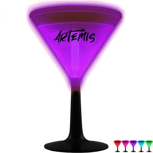 Glow Martini Glass, 9oz.