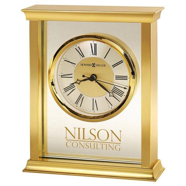 Howard Miller® Monticello Brass Clock