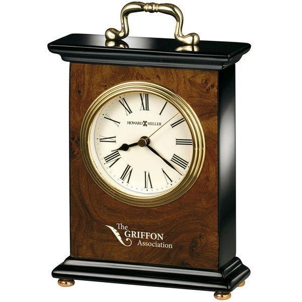 Howard Miller® Berkley Walnut Clock