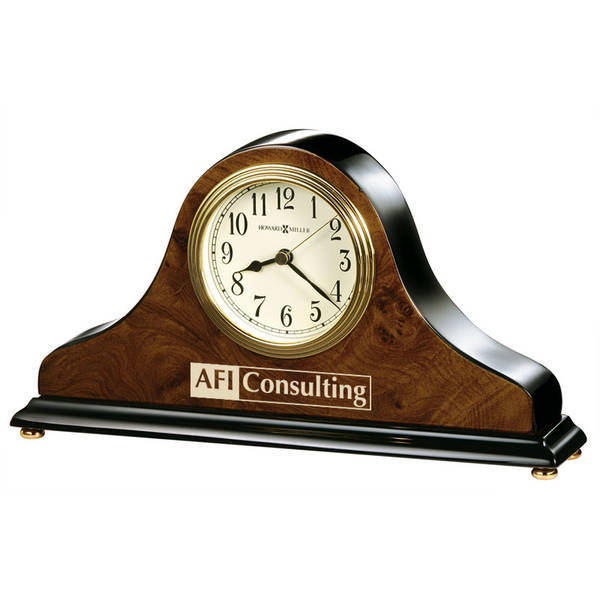 Howard Miller® Baxter Walnut Clock