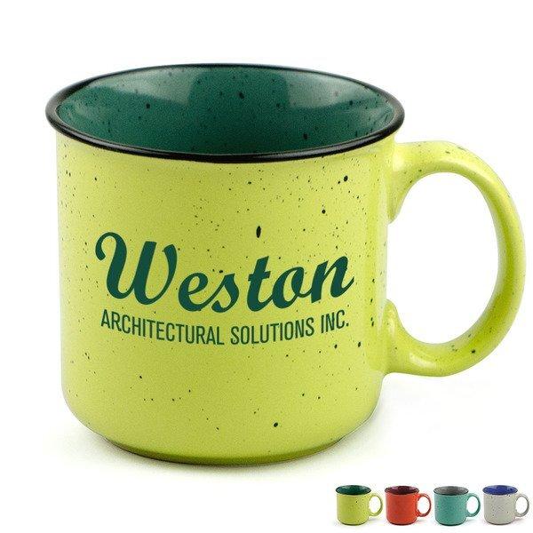 Happy Trails Ceramic Mug, 14oz.