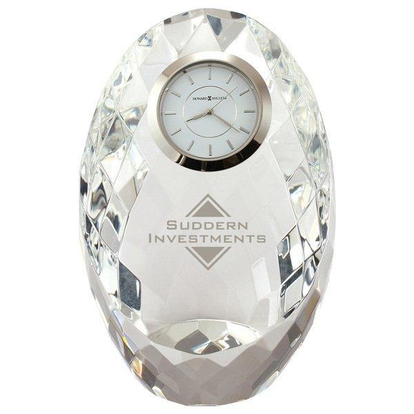 Howard Miller® Rhapsody Crystal Clock