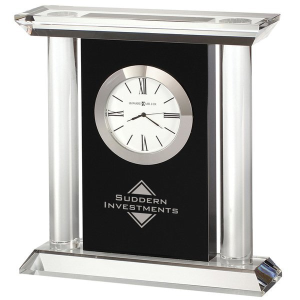 Howard Miller® Colonnade Crystal Clock