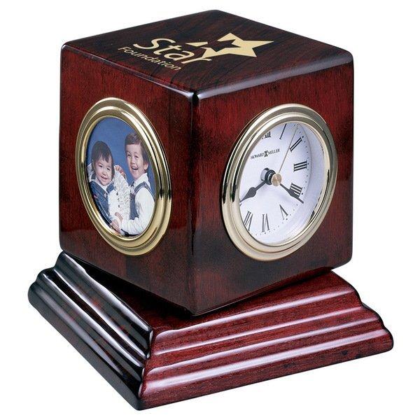 Howard Miller® Reuben Rosewood Clock Combination