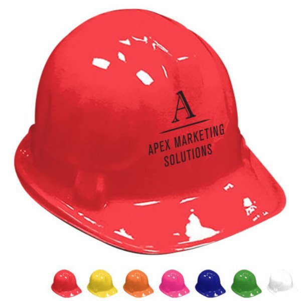 Novelty Plastic Construction Hat