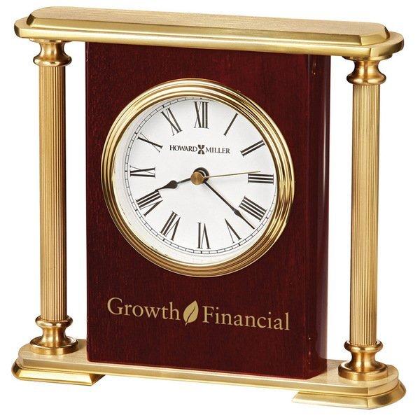 Howard Miller® Rosewood Encore Bracket Clock