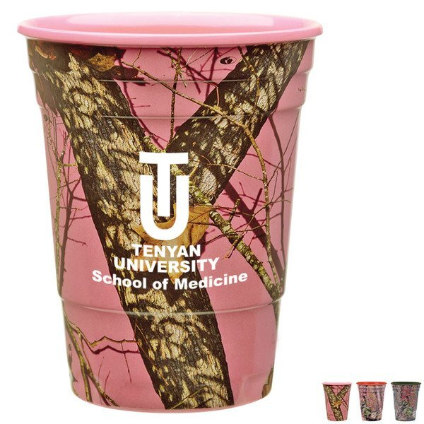 Mossy Oak® Fill Up Plastic Cup, 16oz.