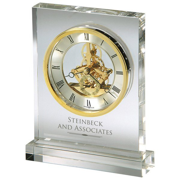Howard Miller® Prestige Optical Crystal Clock