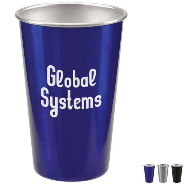 Stainless Steel Pint, 16oz.