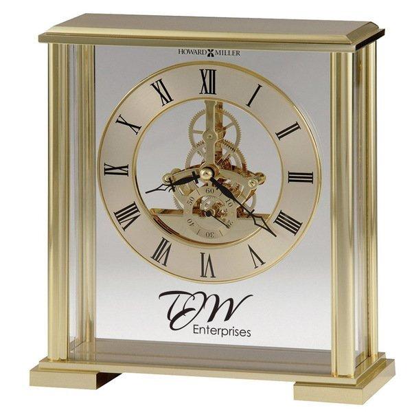 Howard Miller® Fairview Brass Clock