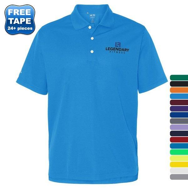 adidas® Golf ClimaLite® Basic Performance Pique Men's Polo