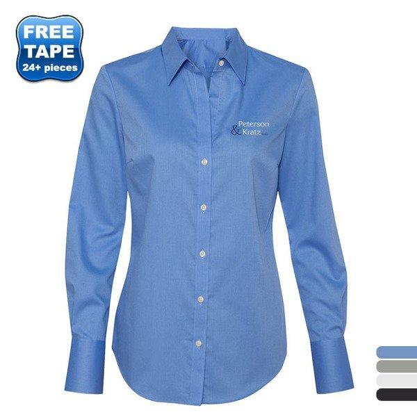 Calvin Klein® Non-Iron Dobby Pindot Ladies' Shirt