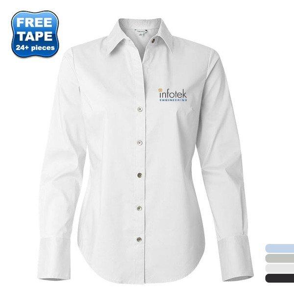Calvin Klein® Cotton Stretch Ladies' Shirt