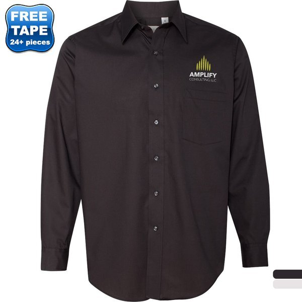 Van Heusen® Non-Iron Broadcloth Men's Shirt