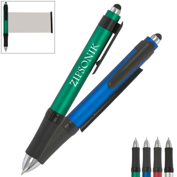 CleanWrite Micro-Fiber Banner Pen w/ Stylus