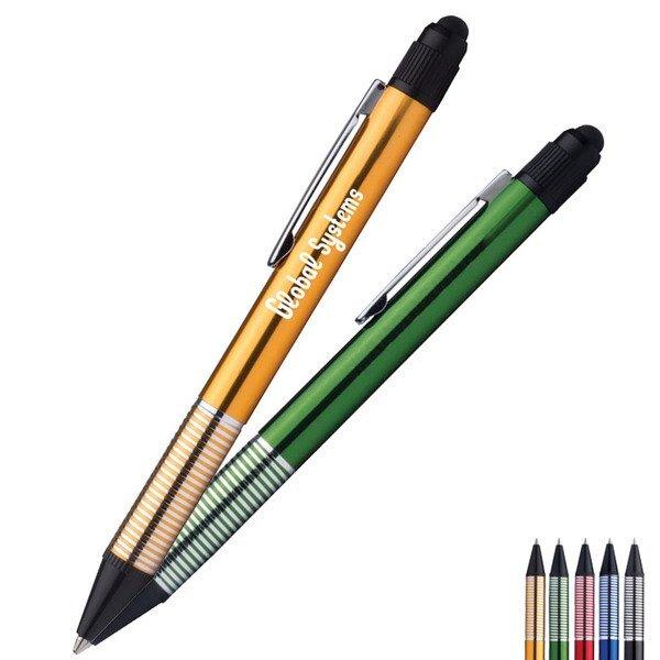 Vivid Metallic Pen w/ Stylus