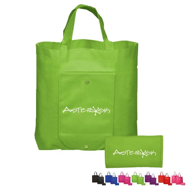 Double-Over Folding Non Woven Tote