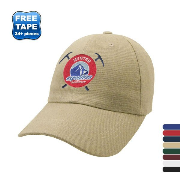 Heavyweight Brushed Cotton Twill Unconstructed Cap