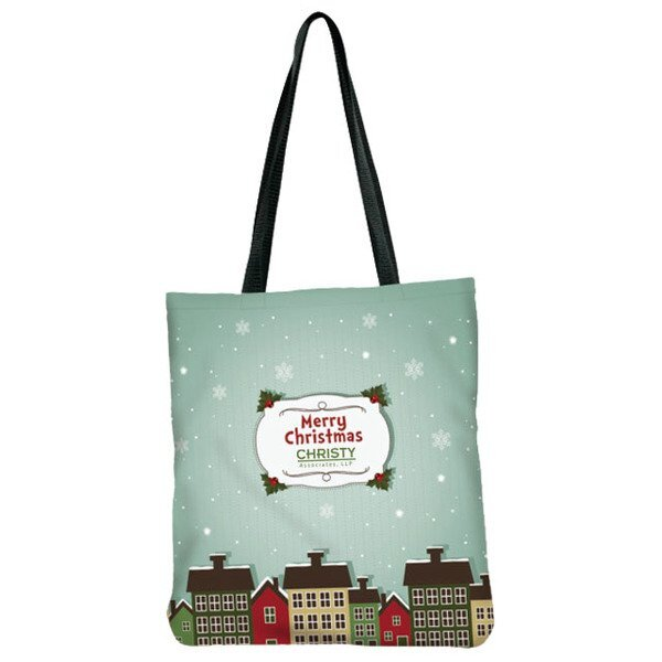 Sublimated Non-Woven Flat Tote