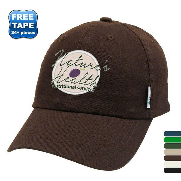 Certified Organic Cotton Unconstructed Cap