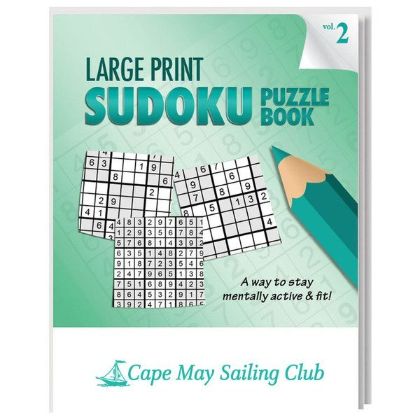Large Print  Sudoku Puzzle Book - Vol. 2