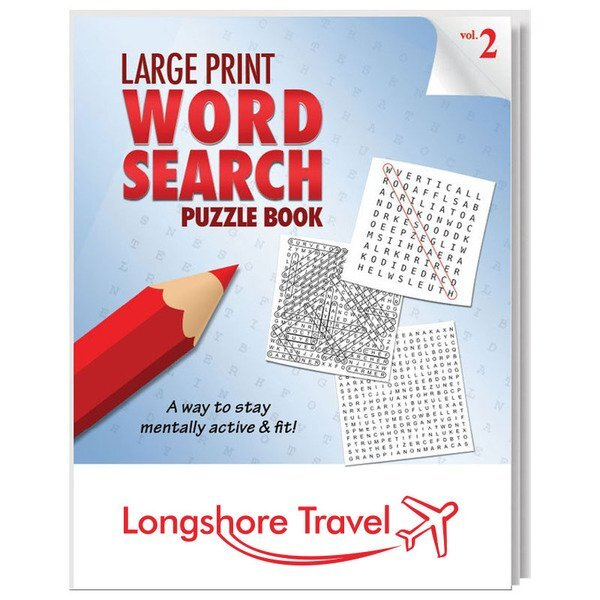 Large Print Word Search Puzzle Book - Vol. 2