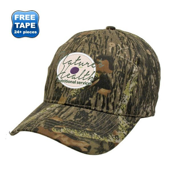 Marsh Camouflage Cotton Twill Unconstructed Cap