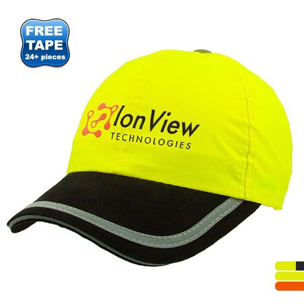 Flourescent Lightly Constructed Safety Cap
