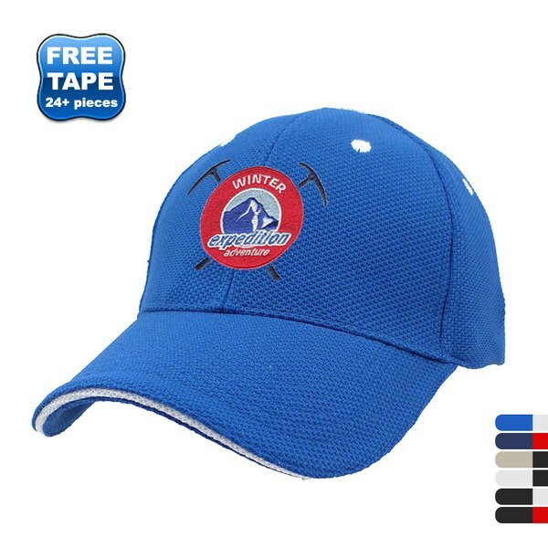 Best Fit Cool Mesh Performance Fitted Sandwich Cap