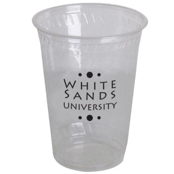 Biodegradable Clear Plastic Cup, 10oz.