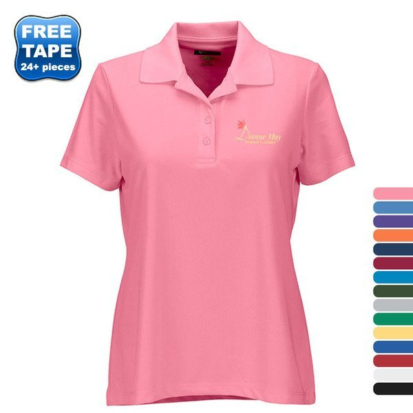 Greg Norman Play Dry® Performance Mesh Ladies' Polo