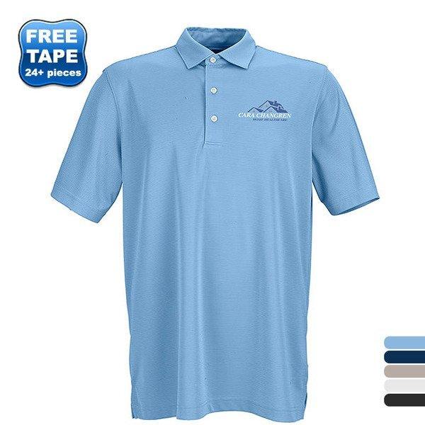 Greg Norman Play Dry® ML75 Micro Lux Tonal Stripe Men's Polo