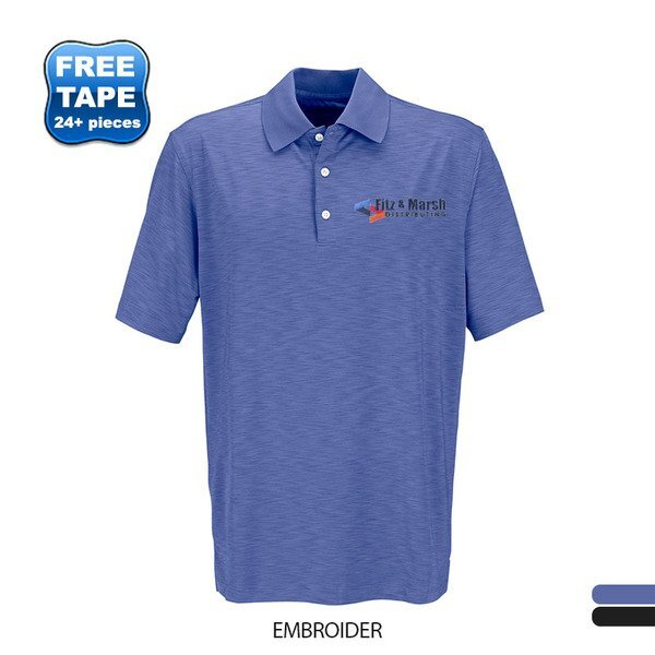 Greg Norman Play Dry® Heather Men's Polo