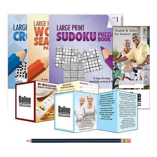 Seniors Deluxe Activity Book Kit